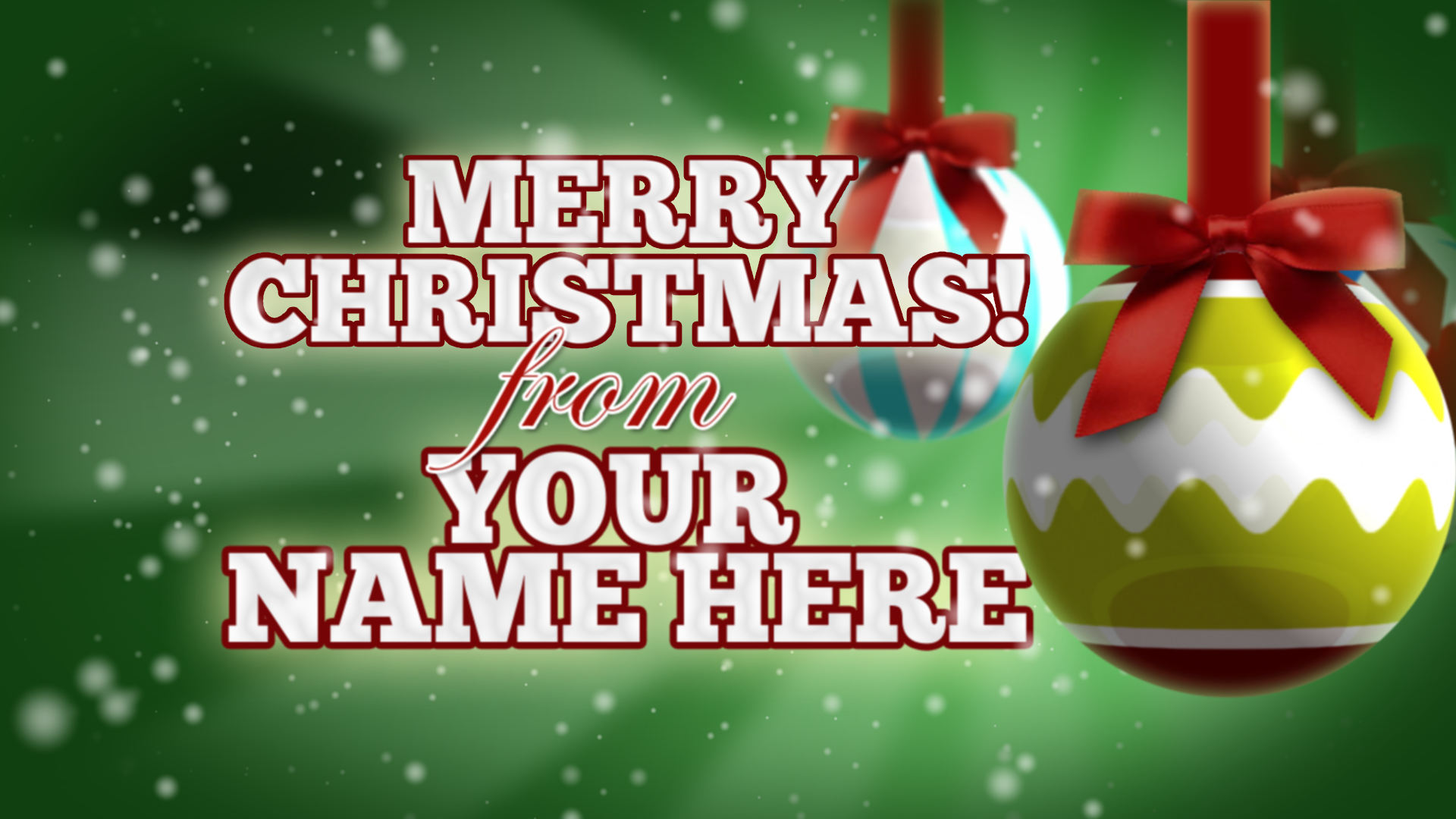 After Effects Tutorial Christmas Greetings 2011 Short Form Video