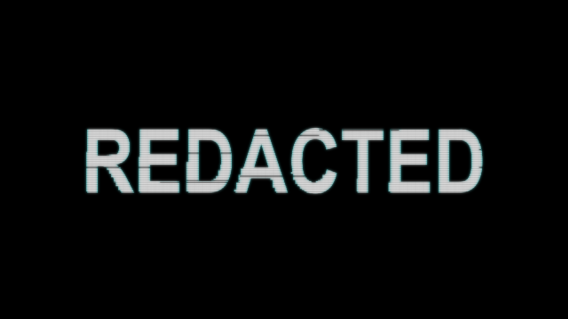 Free After Effects Project File Redacted Short Form Video